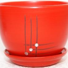 czerwony - Wzór 1