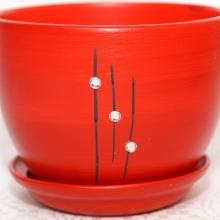 czerwony - Wzór 2