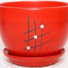 czerwony - Wzór 3